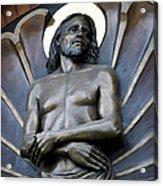 Jesus Cathedral Icon -  Spokane Washington Acrylic Print