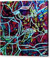 Jesus Christ - King Of Peace Acrylic Print by Gloria Ssali