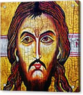 Jesus Christ Mandylion Acrylic Print