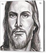 Jesus Christ Acrylic Print by Michael Mestas