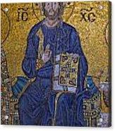 Jesus Christ Mosaic Acrylic Print
