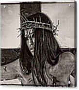 Jesus Christ Portrait Acrylic Print