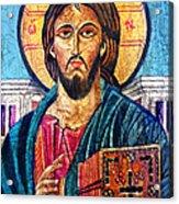 Jesus Christ The Pantocrator I Acrylic Print