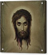 Jesus Christus Portrait By Martie Circa 1876 Acrylic Print