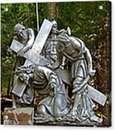 Jesus Falls The First Time Acrylic Print