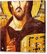 Jesus Icon At Saint Catherine Monastery Acrylic Print