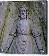 Jesus In Repose Acrylic Print