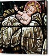 Jesus Is Born Acrylic Print