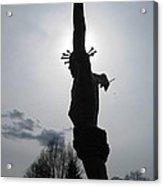 Jesus Is Hope Acrylic Print