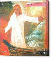 Jesus Is The Christ Messiah Acrylic Print