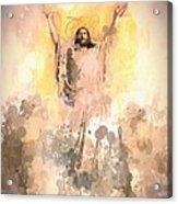 Jesus Loves You 2 Acrylic Print