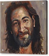 Jesus Loves You Acrylic Print
