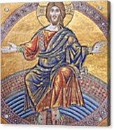 Jesus Mosaics Acrylic Print