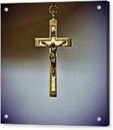 Jesus On The Cross 2 Acrylic Print by Paul Ward