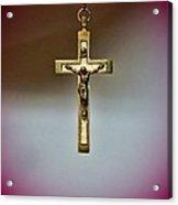 Jesus On The Cross 3 Acrylic Print