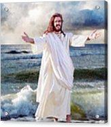 Jesus On The Sea Acrylic Print