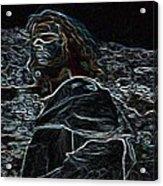 Jesus Preaching On The Mount Acrylic Print