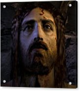 Jesus Resurrected Acrylic Print by Ray Downing