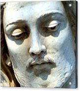 Jesus Statue Acrylic Print by David G Paul