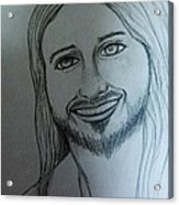 Jesus Sweet Smile Acrylic Print