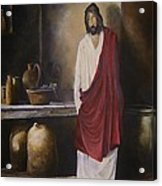 Jesus- The First Miracle- Acrylic Print