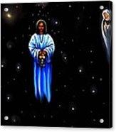 Jesus - The Guiding Light Acrylic Print