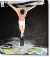 Jesus The Ultimate Sacrifice Acrylic Print