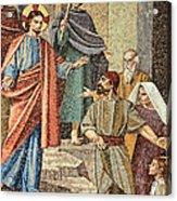 Jesus Visit Acrylic Print