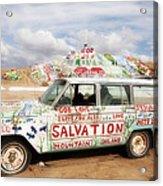Jesus Wagon Acrylic Print