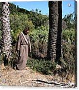 Jesus- Walk With Me Acrylic Print