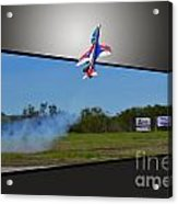 Jet 3d Acrylic Print