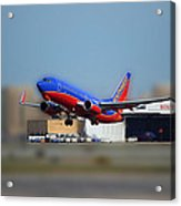 Jet Chicago Airplanes 17 Acrylic Print