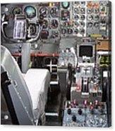 Jet Cockpit Acrylic Print