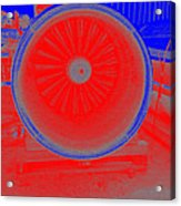 Jet Engine 3 Acrylic Print