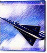 Jet Speed Acrylic Print