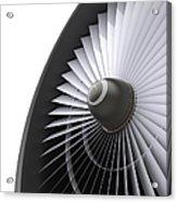 Jet Turbine Acrylic Print