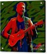 Jethro Tull-96-a21-fractal Acrylic Print