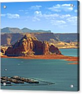 Jewel In The Desert - Lake Powell Acrylic Print by Christine Till