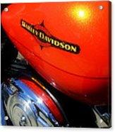 Jewel Of Bikes Motorcycles Acrylic Print