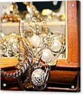 Jewelry Collections Acrylic Print by Ester  Rogers