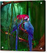 Jewels Of The Jungle Acrylic Print