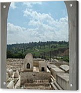 Jewish Cemetery In Morocco Acrylic Print