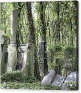 Jewish Cemetery Weissensee Berlin Acrylic Print