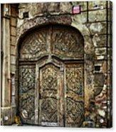 Jewish Quarter Doorway Acrylic Print