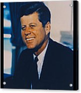 Jfk John F Kennedy Acrylic Print by Official White House Photo