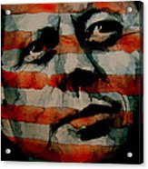 JFK Acrylic Print by Paul Lovering