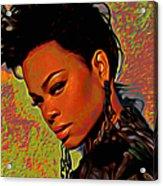 Jill Scott Acrylic Print
