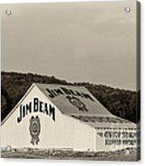 Jim Beam - D008291-bw Acrylic Print