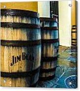 Jim Beam Acrylic Print by Jeff Tureaud