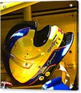 Jim Cipriano's Helmet Acrylic Print
